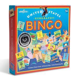 United States Geography Bingo by eeBoo