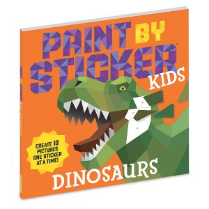 Dinosaurs Paint By Sticker