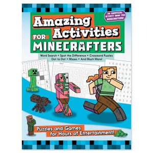 Minecrafters Amazing Activities Puzzle Book