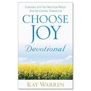 Choose Joy Devotional Book
