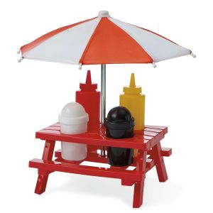Picnic Table Condiment Holder
