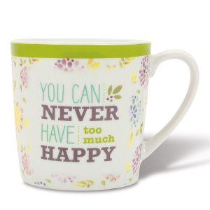 Happy Porcelain Mug