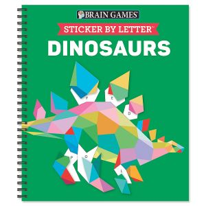 Dinosaurs Sticker by Letter Brain Games®