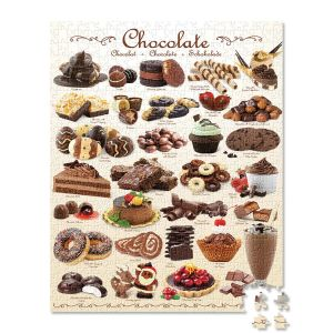 1,000-Piece Chocolate Puzzle