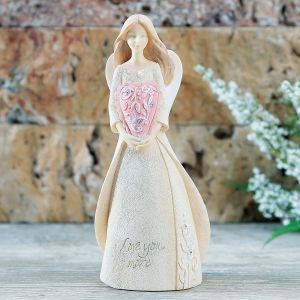 Love You More Angel Figurine