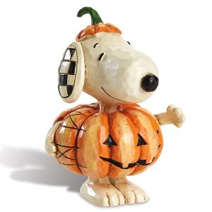 Mini Snoopy™ with Pumpkin Figurine by Jim Shore