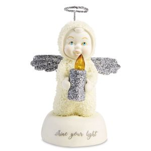 Snowbabies™ Shine Your Light Figurine