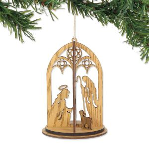 Holy Family 3D Ornament