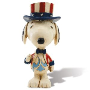 Patriotic Mini Snoopy™ Figurine by Jim Shore