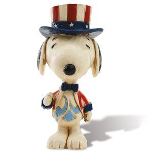 Patriotic Mini Snoopy™ Figurine by Jim Shore