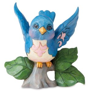 Mini Bluebird Figurine by Jim Shore