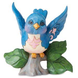 Mini Bluebird Figurine by Jim Shore