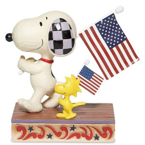 Snoopy & Woodstock Glory March Figurine by Jim Shore