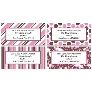 Everyday Dots & Stripes Address Labels  (4 designs)