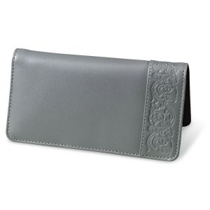 Mercury Magic Leather Checkbook Cover