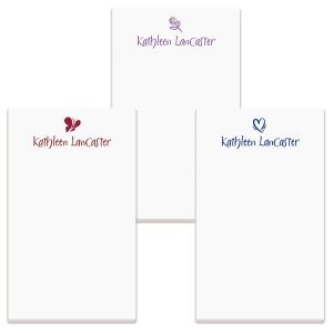 personalized note pads monogram note pads current catalog
