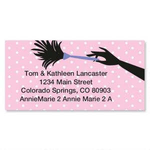 Cleaning Border Address Labels