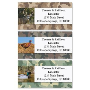 Hunter Classic Address Labels  (3 designs)