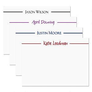 Elegant Formal Correspondence Cards