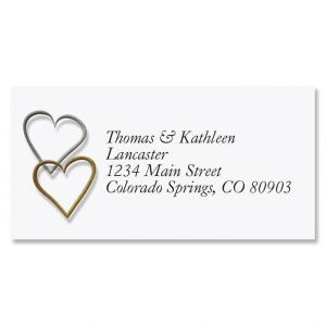 Wedding Border Address Labels
