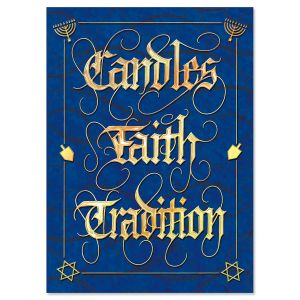Happy Hanukkah Personalized Cards