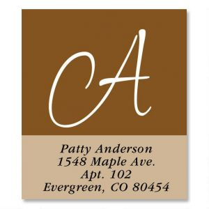 Casual Select Address Labels