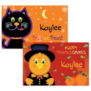 Kids' Autumn Place Mats