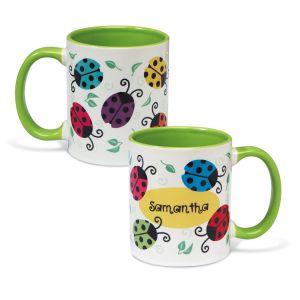 Ladybug Personalized Mug