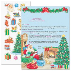 Santa Letter and Stickers