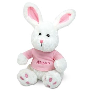 Personalized Easter Bunny with T-Shirt