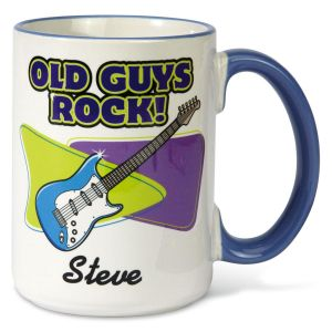 Old Guys Rock Mug