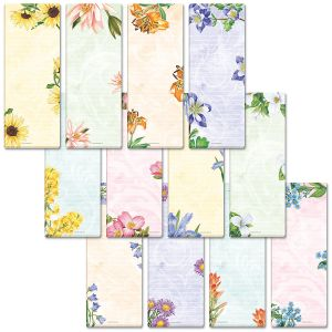 12-Month Shopping List Note Pad Set
