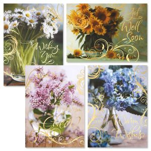 Quiet Moments Deluxe Get Well Cards