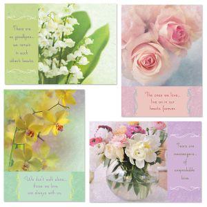 Floral Sympathy Cards