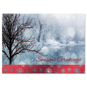 Bright Holiday Christmas Cards