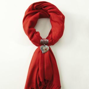 Heart Scarf Accent