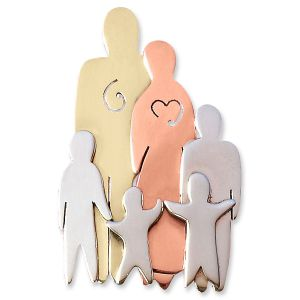 Family Pins - 6 Figures