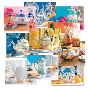 Teapots Note Cards Value Pack