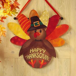 Thanksgiving Canvas Door Decoration