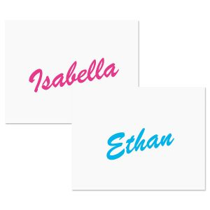 Big Name Note Cards