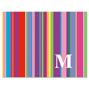 Bold Initial Note Cards