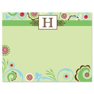 Fanciful Correspondence Card