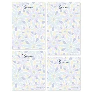 Fresh Blooms Notepad Set