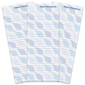 Ogee Lined Shopping List Pads