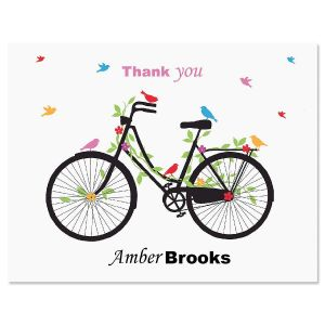 New Spin Thank You Card