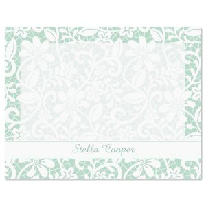 Lace Correspondence Cards