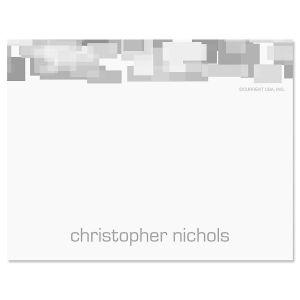 Shades of Grey Correspondence Card