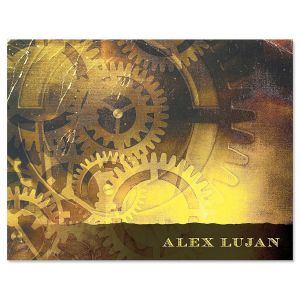 Out of Time Personalized Note Cards