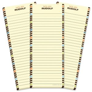Renegade Lined Shopping List Pads