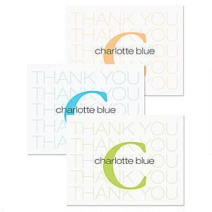 Alpha Beta Thank You Card
